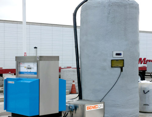 DEF Installation Fueling Station Island Cold Weather Bulk Tank & Piping Bridge