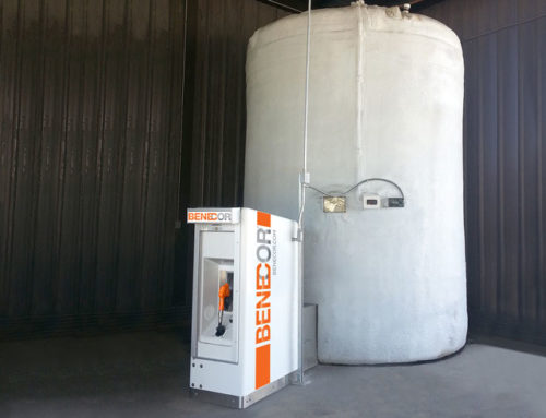 DEF Installation Enclosure With Piping Bridge & Cold Weather Bulk Tank