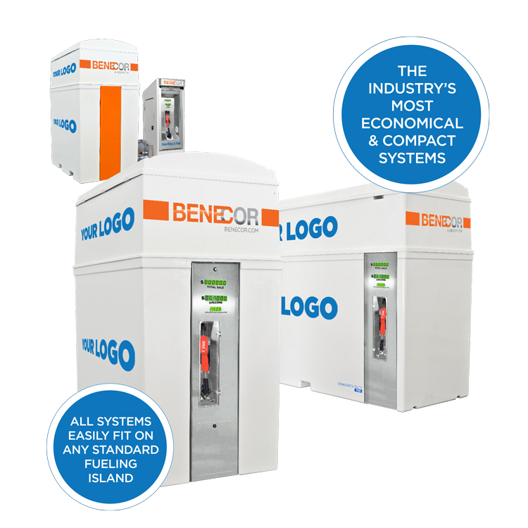 Benecor Standard Duty DEF Storage and Dispensing System