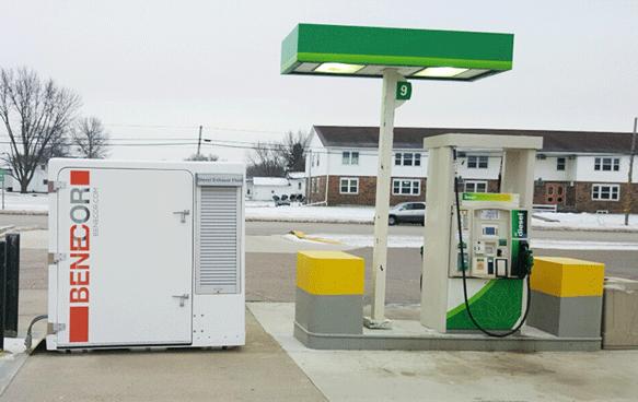 DEF Installation Mini-Bulk Fleet 500 Gallon Dispensing and Storage